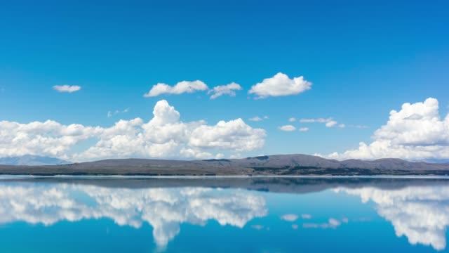 湖の空雲 - チロル州点の映像素材/bロール