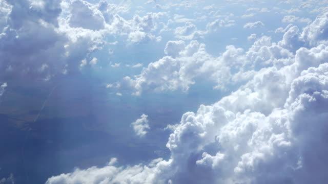molnet textur och blå himmel - himlen bildbanksvideor och videomaterial från bakom kulisserna