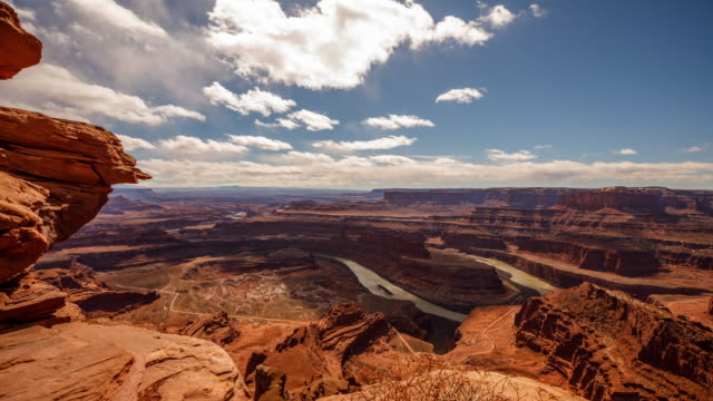 Cloud Time Lapse Canyons Utah Landscape