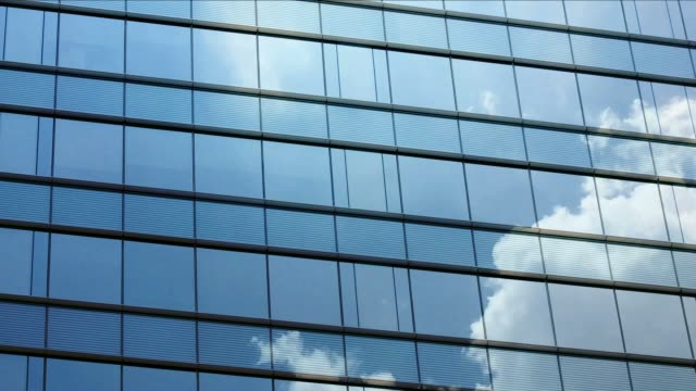 cloud time lapse on window video