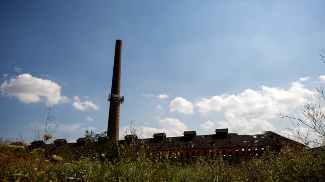 Clouds and factory video