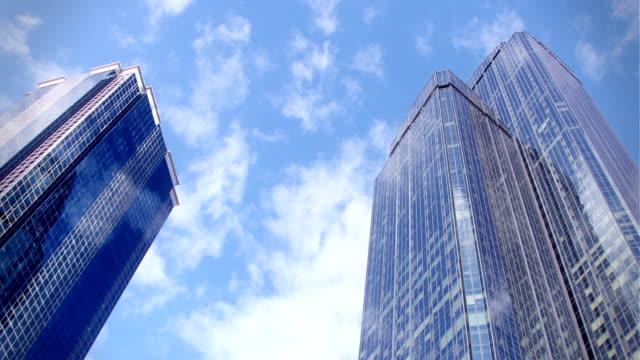 Clouds and Skyscraper video