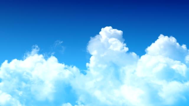 雲の背景 - クラウドコンピューティング点の映像素材/bロール