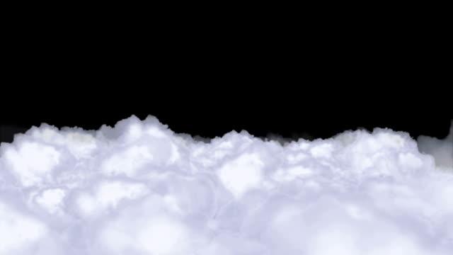 priorità bassa delle nubi - paradiso video stock e b–roll