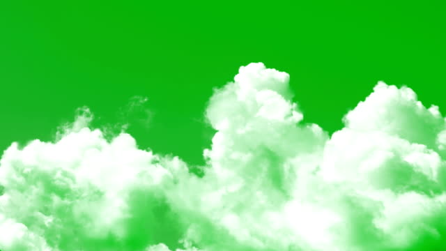 Clouds Chroma key Clouds Chroma key cycle vehicle stock videos & royalty-free footage