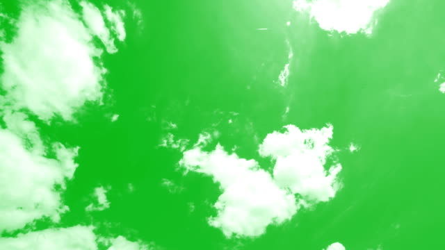 Clouds Chroma key Clouds Chroma key environmental conservation stock videos & royalty-free footage