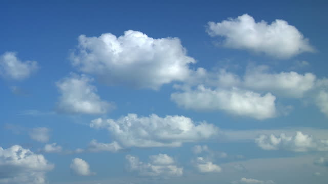 cloud. pulire. hq 1080 p rgb a 4:4: 4 - passare davanti video stock e b–roll