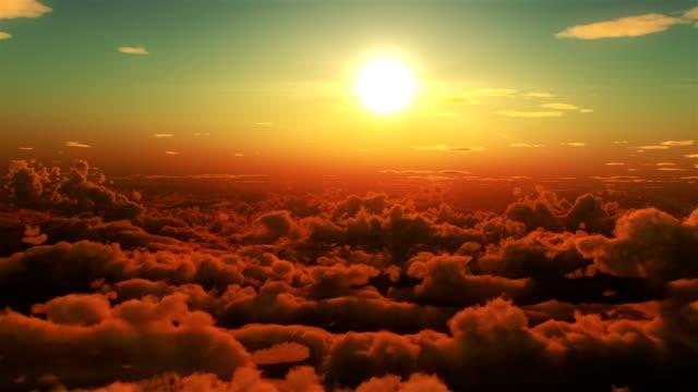 HD: Clouds flight video