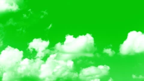 vídeos y material grabado en eventos de stock de pantalla verde de las nubes - nube