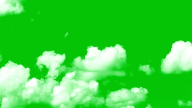Clouds greenscreen