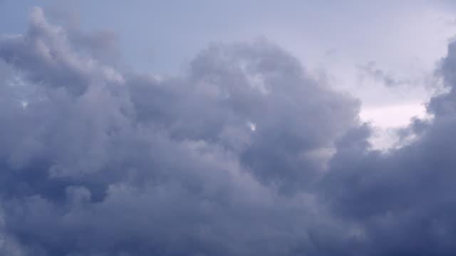 clouds in sky video