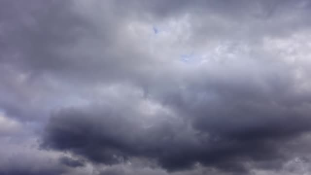 Clouds in the sky. Shooting Time lapse. video
