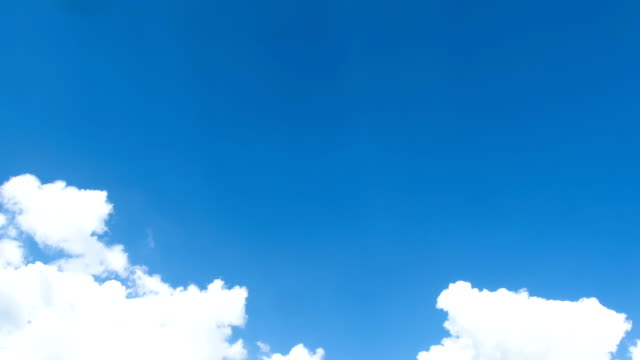 Clouds Moving in the Blue Sky​ video