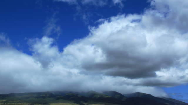 Clouds Over Mountains - Time-lapse HD video