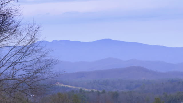 Clouds Over the Appalachian Mountains video
