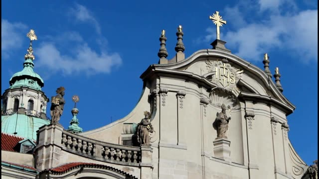 clouds over the church, religious holidays