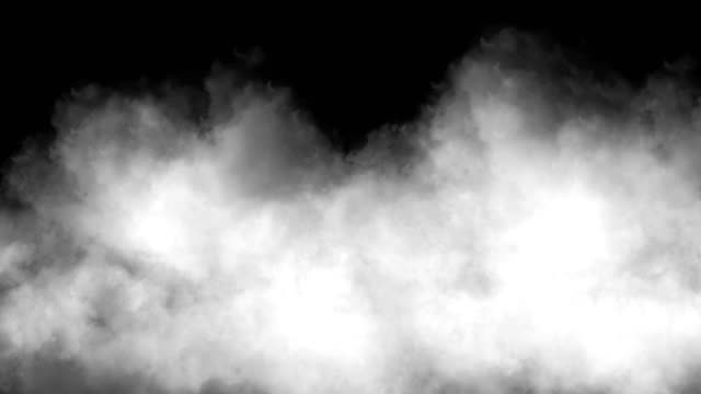 clouds smoke abstract 4k video