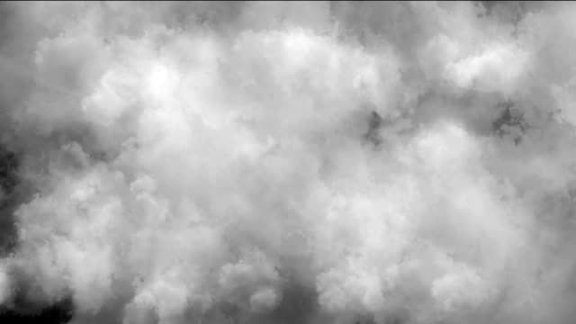 clouds smoke abstract video