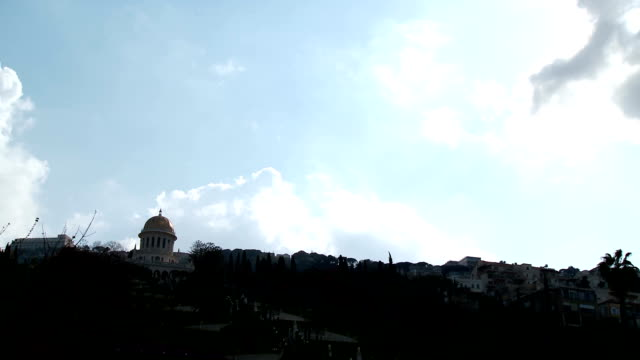 Clouds Time Lapse over Haifa, Israel video