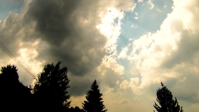 bulutlar zaman atlamalı - sale stok videoları ve detay görüntü çekimi