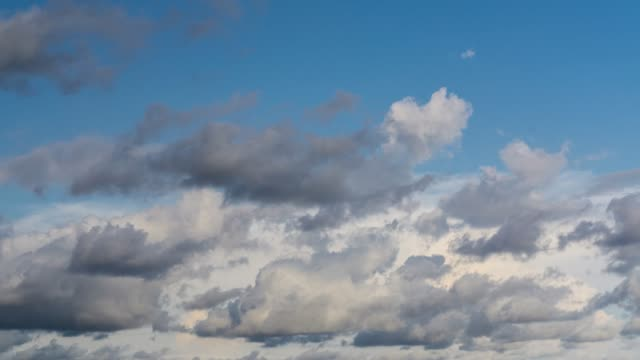 Clouds time-lapse