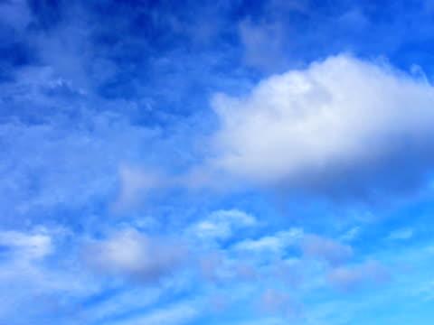 雲(ループ)(クリーン - 層積雲点の映像素材/bロール