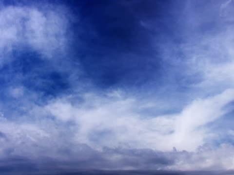 pal: wolken - zirrus stock-videos und b-roll-filmmaterial
