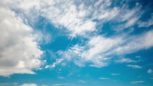 vídeos de stock, filmes e b-roll de nuvens - só céu