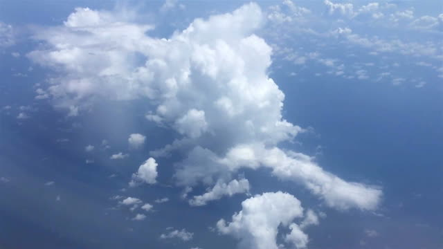 clouds with blue sky video