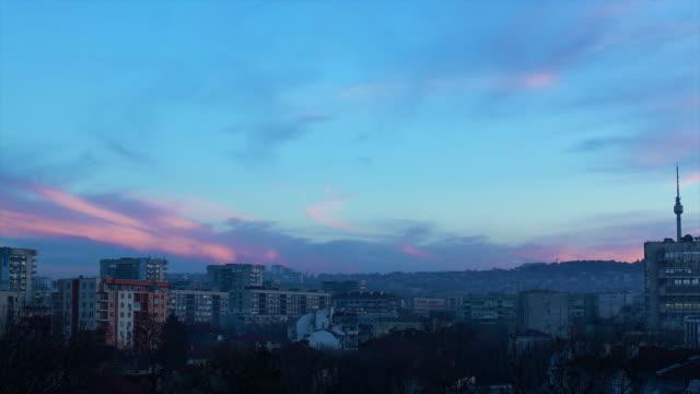 cloudscape の夜明け - 層積雲点の映像素材/bロール