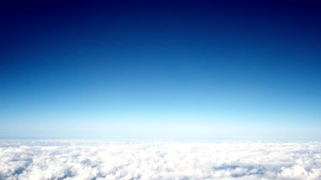 cloudscape in the sky