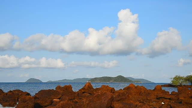 Cloudscape on the Sea video
