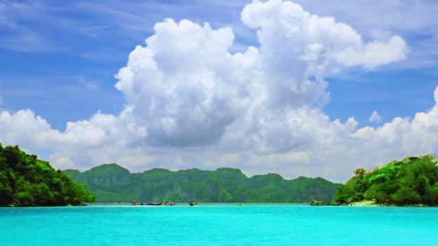 Cloudscape over seascape video