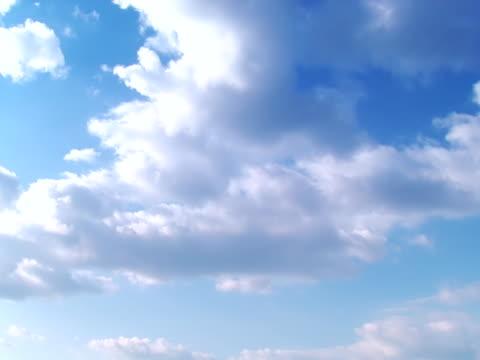 vidéos et rushes de fonds de nuage-partie 1 sur 4, le temps qui passe - image teintée