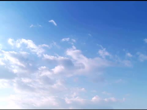 cloudscape - part 3 of 4, time lapse - klip uzunluğu stok videoları ve detay görüntü çekimi