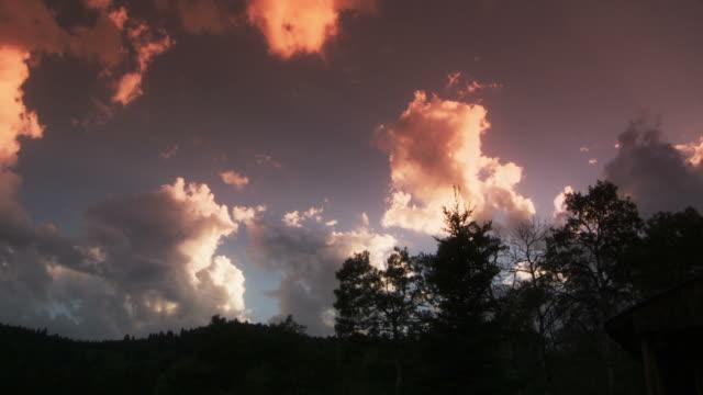 Cloudscape time lapse video