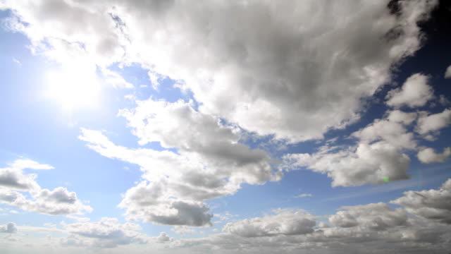タイムラプス雲模様 - 層積雲点の映像素材/bロール