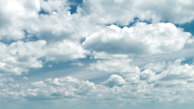 Cloudscape, tume lapse video
