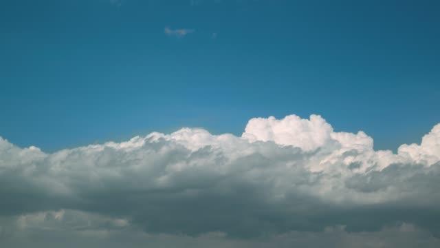 cloudy cold front. - pościć filmów i materiałów b-roll