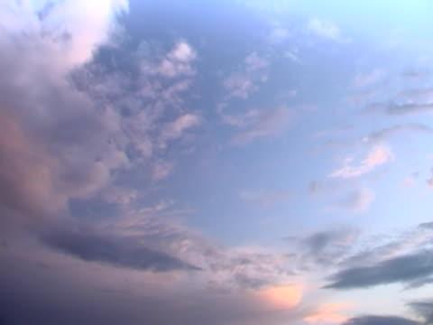 クラウディ空 - 層積雲点の映像素材/bロール