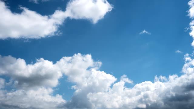cloudy sky timelapse. - mandriano video stock e b–roll