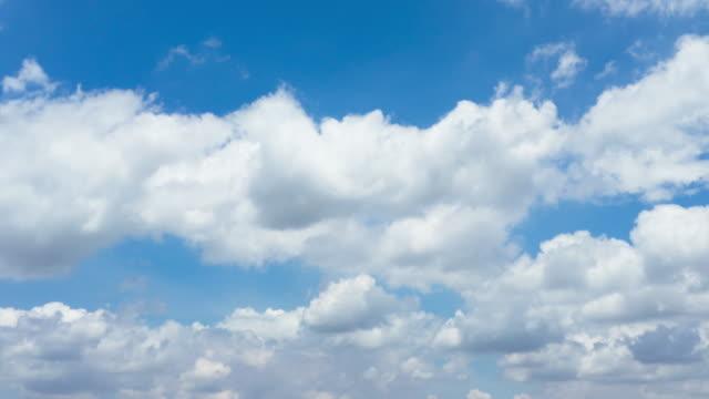 Cloudy sky,Timelapse video