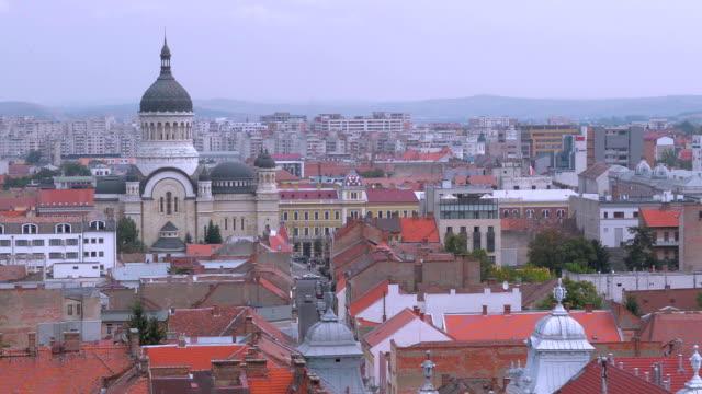 Cluj Napoca skyline video