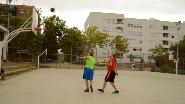 Clumsy Basketball Players video