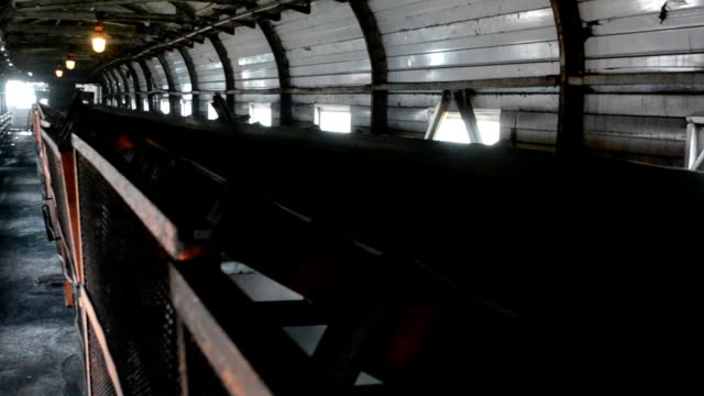 coal conveyor video