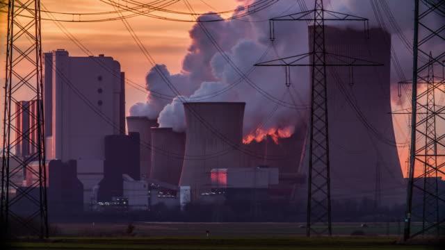 koleldade kraftverk - kol bildbanksvideor och videomaterial från bakom kulisserna