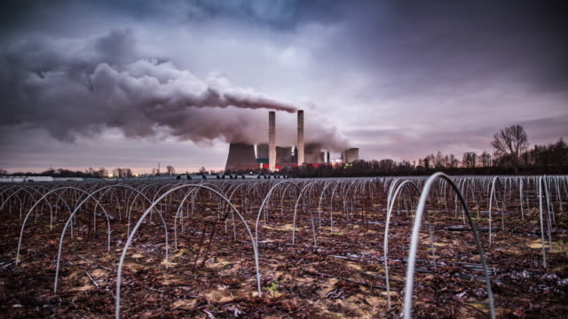 TIME LAPSE: Coal fired power station video