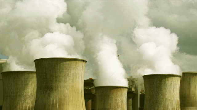HD Coal Power Plant Emissions (Real Time) video