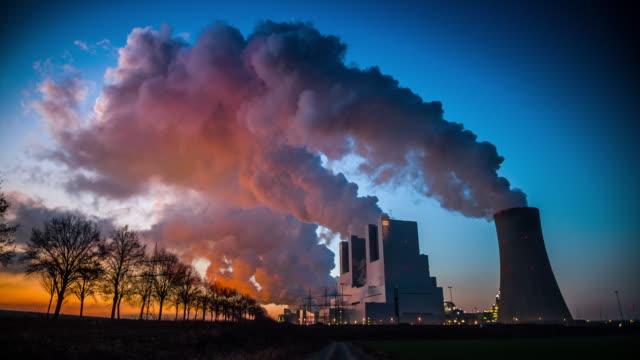 kolkraftverk - avgaser bildbanksvideor och videomaterial från bakom kulisserna