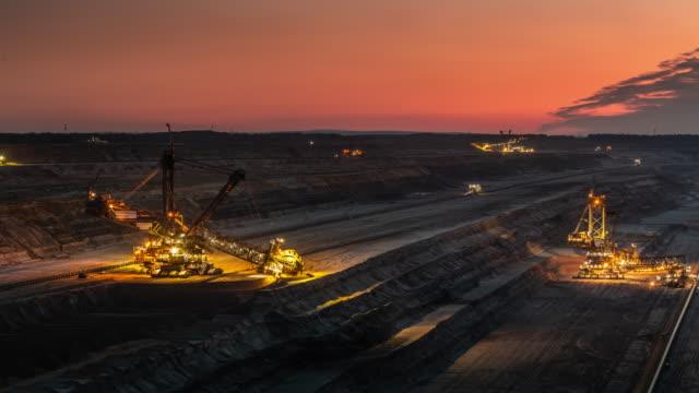 Coal Surface Mine - Time Lapse
